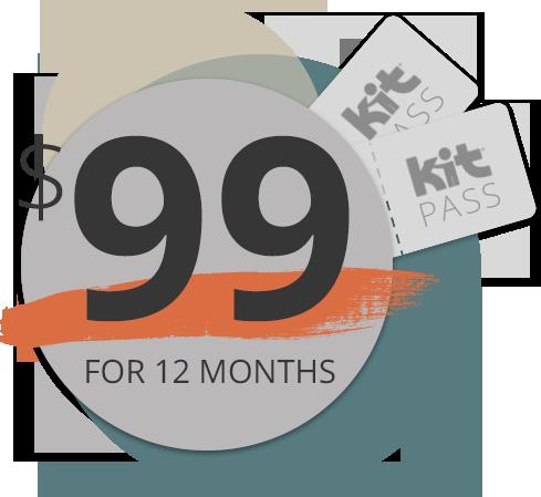 $99 KIT Pass logo