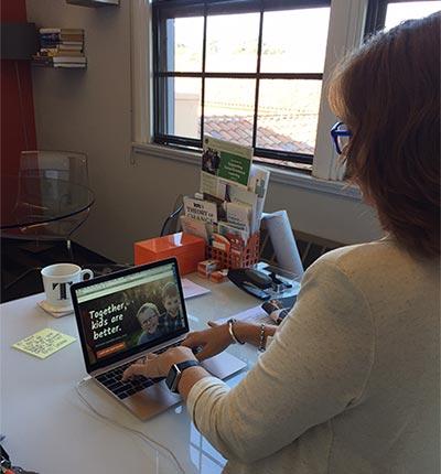 Torrie looking at new inclusive website