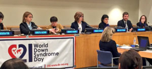 Torrie Speaking at World Down Syndrome Day