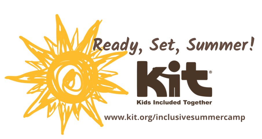 a hand-drawn sun next to the words Ready, Set, Summer and the KIT logo