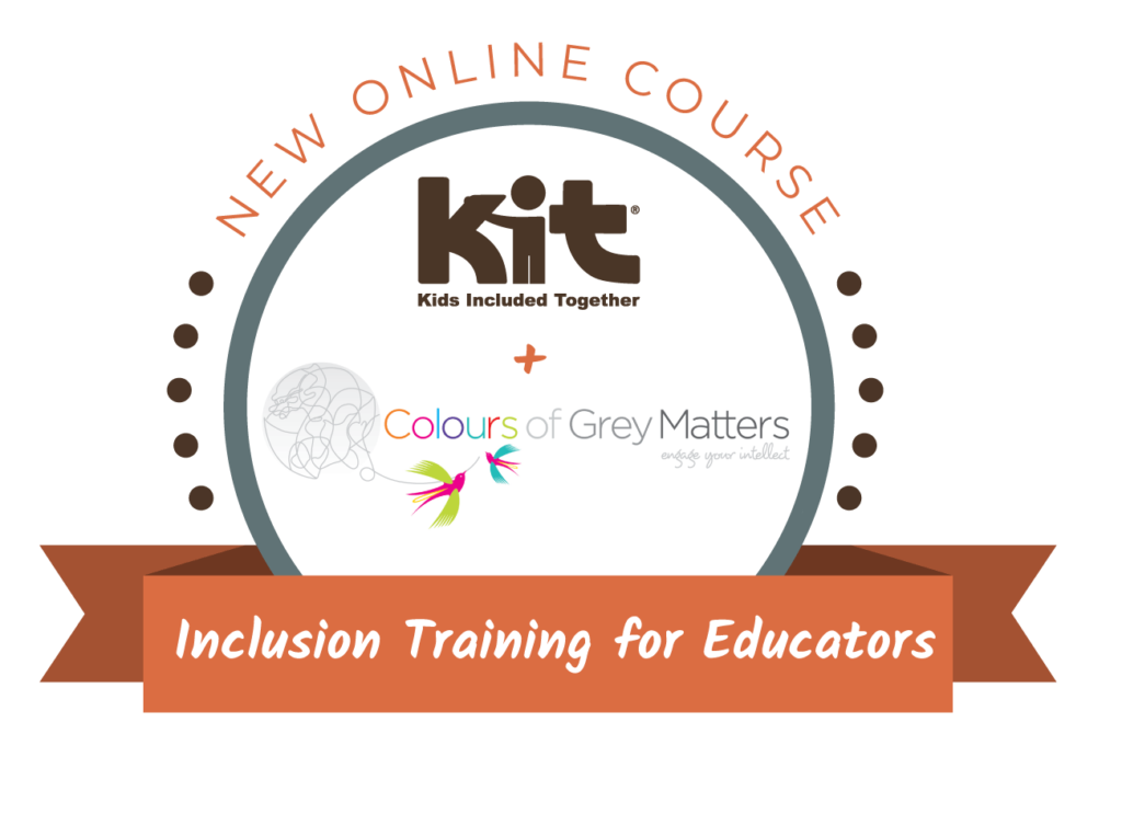 Graphic logo for Inclusion Training for Educators course