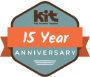 KIT 15 Year Anniversary Logo
